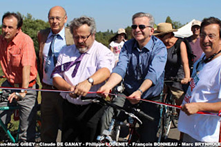 Lygéro cyclo spectacle 2012 Inauguration
